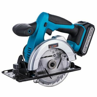 KATSU 102792 Cordless Circular Saw 135mm 18V 2.0Ah 1 Battery Fast Charger