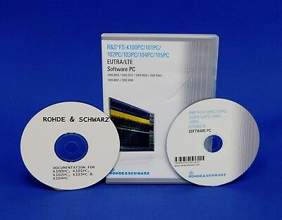 Rohde & Schwarz FS K102PC LTE MIMO dowlink measurement software for PC