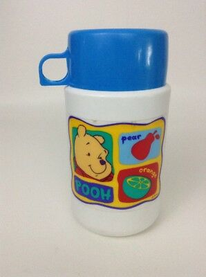 Disney Winnie The Pooh Kitchenware Pooh Bear Thermos Replacement w/ Lid & Cap