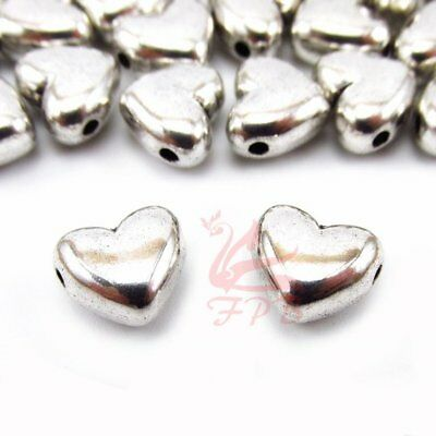 Palm Tree 14mm Antiqued Silver Plated Spacer Beads B5490-10 20 Or 50PCs