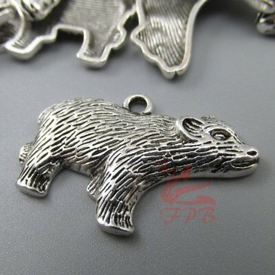 Badger 29mm Antiqued Silver Plated Hufflepuff Charms SC0062821 - 8/15/30PCs