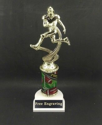 """10.5"""" Football Trophy Award Youth or Fantasy League. Free engraving."""