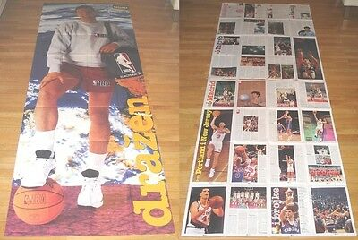 New Drazen Petrovic Reversible Poster Natural Size