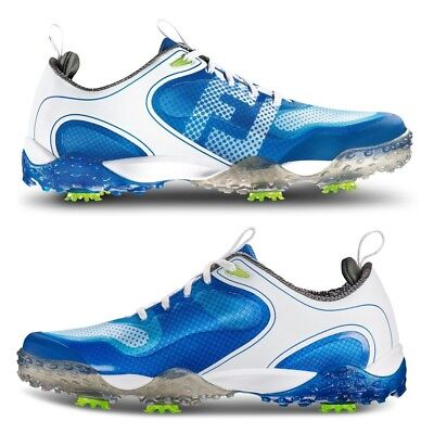 440c68df886c5a FOOTJOY 57340 FREESTYLE Golf Shoes White/Blue (Prior Generation ...
