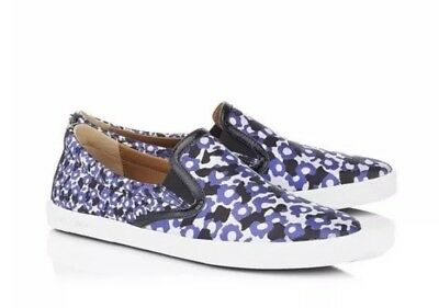 dfea30c0039f Jimmy Choo Demi Violet Floral Printed Jacquard Slip On Sneakers 41 10  Free  Ship