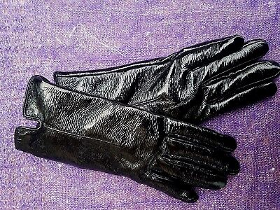 NEW Authentic TOPSHOP Black Faux Leather Gloves - Touch Screen / Texting