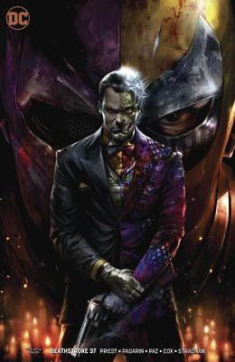 DEATHSTROKE #37 Mattina Variant Cover (DC Comics, 2018) NM 1st Print Two Face
