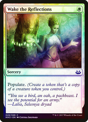 MTG Foil Modern Masters 2017 X1 Pack Fresh Wake the Reflections