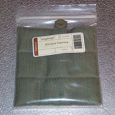 Longaberger Sage HANDLE GRIPPER Button-Style ~ Brand New in Original Packaging!