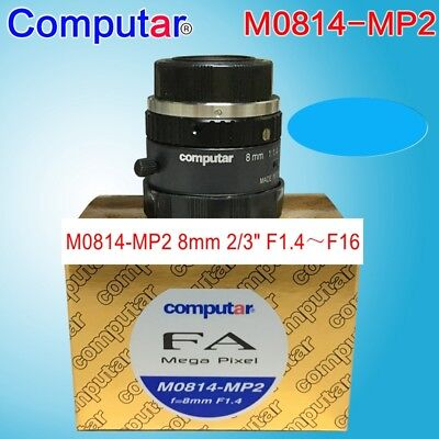 1PC Computar M0814-MP2 8mm 1:1.4 NEW Megapixel HD industrial camera less#SS