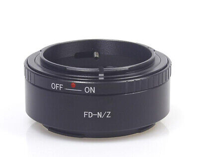 Ring Adapter for Canon FD Mount Lenses to Nikon Z7 Z6 Cameras Replace FTZ