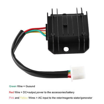 12V 4 Pin Voltage Regulator Rectifier For 150-250CC Motorcycle ATV Bike Moped GW