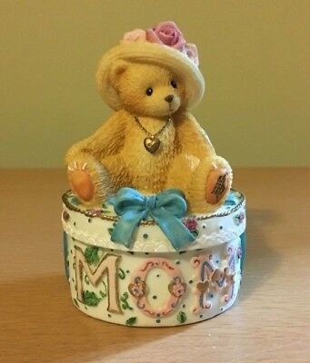 "Cherished Teddies #306614 MOM "" Maker of Miracles"" New in Box 1997"