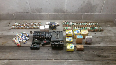 Serviceman Fuse, Breaker Lot Estate Large Assordtment Buss S, T Type, Cartridge