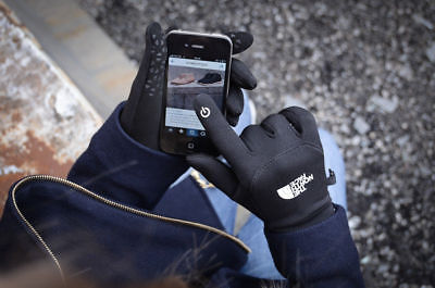 The North Face men's ETIP Touch Screen Touchscreen Gloves S M L XL