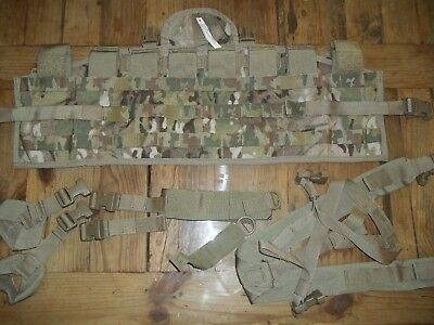 New Military Genuine Molle Multicam Ocp Tap Tactical Assault Panel W/straps