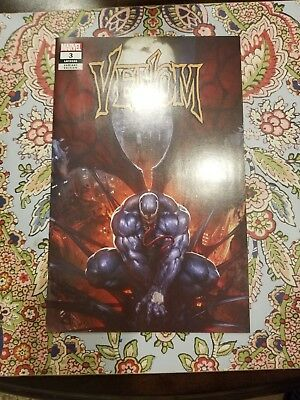 Venom #3  SKAN Variant 1st appearance Knull Symbiote God Donny Cates limited 300