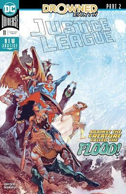 JUSTICE LEAGUE #11 Main Cover *Drowned Earth* (DC Comics, 2018) NM New 1st Print