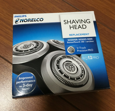 New Shaving Head for Philips Norelco RQ12+ Shaver Series 8000 9000 SensoTouch 3D