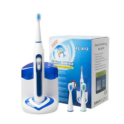 Blue 5 Modes Electric Toothbrush Wellness Ultra High Powered Rechargeable Sonic
