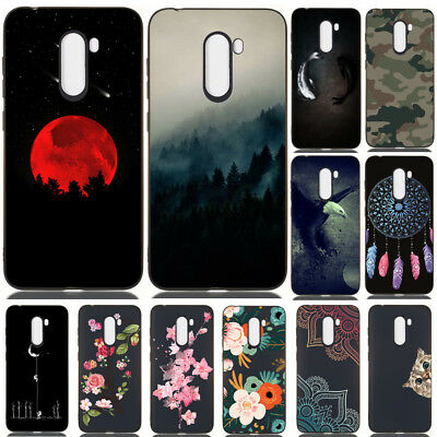 For Xiaomi F1 A2 8 Lite Redmi 6 Pro Painted Rubber Slim Soft TPU Back Case Cover
