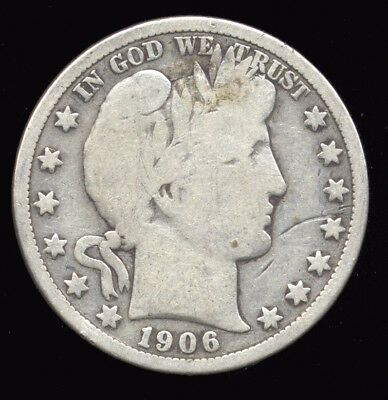 1906-D  ...  Better Date  ...  Barber Half Silver (313-211)  FREE SHIPPING