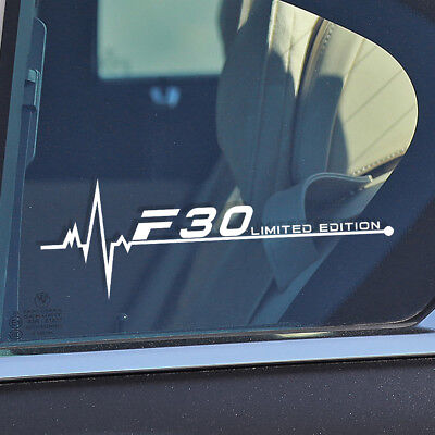 BMW E38 is in my Blood heartbeat CAR window sticker decals graphic E39 M3 M5 E62
