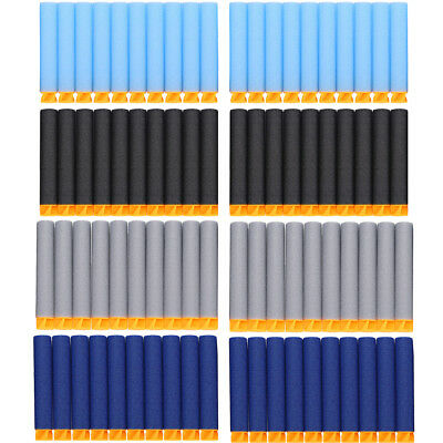 100-1000X Gun Soft Refill Bullets Darts Round Head Blaster For Nerf N-Strike Toy
