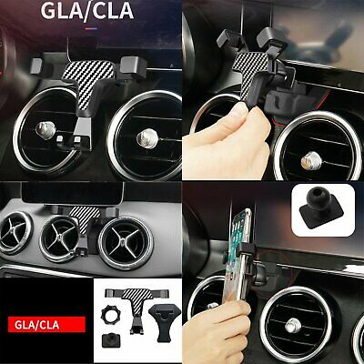 For Mercedes-Benz Smart Cell Phone Holder 360° Rotary Car Air Vent Outlet Mount