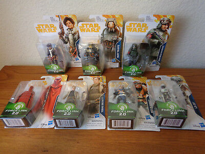 Star Wars Wave 4 Solo Movie 3.75 inch action figure Han, Val, Beckett, L3-37 Qua