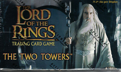 Lord of the Rings Card Game CCG The Two Towers Box OVP (Decipher)  2 Boxen