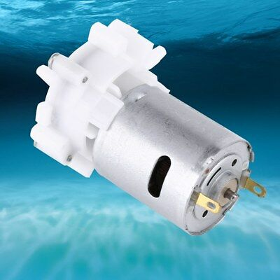 DC3-12V Self-priming Water Gear Pump RS-360SH Spray Pumping Motor for Aquarium