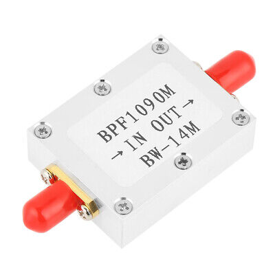 1090MHz ADS-B Aeronautical Bandwidth 14MHz BandPass Filter Insertion Loss <4dB