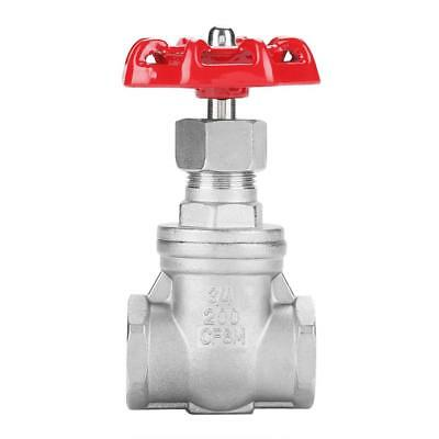 DN20 BSPP G3/4 304 Stainless Steel Rotary Sluice Gate Valve for Water Oil Gas GL