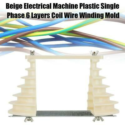 Electrical Machine Plastic 0.55-3KW Single Phase 6-Layer Coil Wire Winding Mold