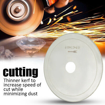 10pcs Ultra Thin Diamond Lapidary Circular Saw Cutting Blade Gems Jewelry Cutter
