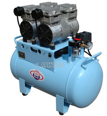 Best-unit 60L Dental Silent Oilless Air Compressor One Drive Four BD-202 LMWS