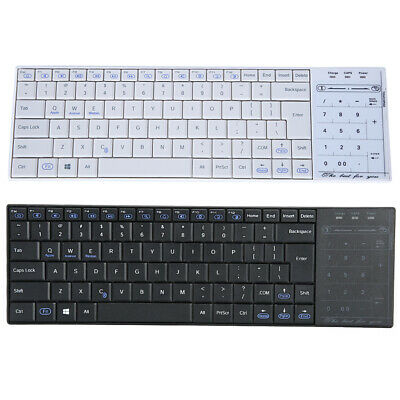 Universal Wireless Bluetooth Keyboard 2in1 Slim Touchpad Numeric Key & Mouse