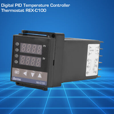 New 110V/220V REX-C100 Digital PID Temperature Controller RELAY & SSR Thermostat