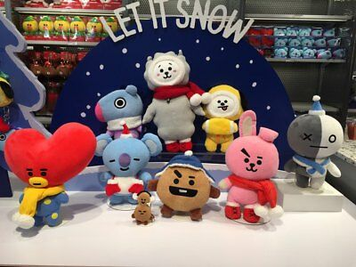 BTS BT21 Official Christmas Plush Doll Limited Edition 8 Ver_Free standard ship