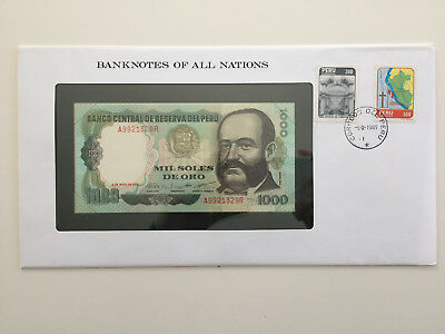 Banknotes of All Nations - Peru - 1000 soles - UNC