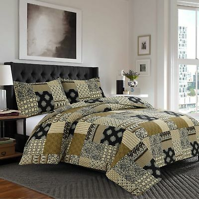 Fabulous 100% Egyptian Cotton Printed Duvet Cover Sets Bedding Sets All Sizes