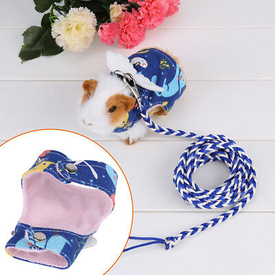 Cartoon Animal Lead Leash Hamster Mouse Squirrel Sugar Glider Harness Leashes