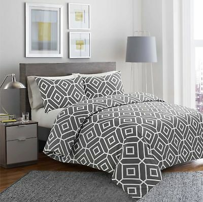 Luxury Multi colours 100% Egyptian Cotton Printed Duvet Cover Sets All Sizes
