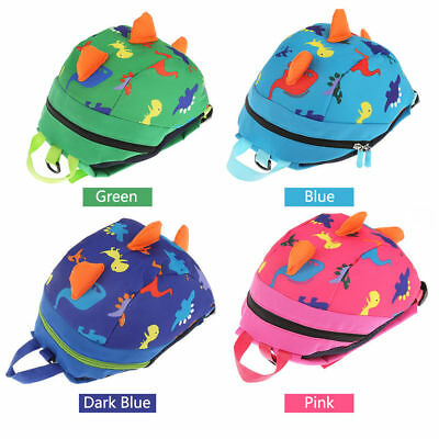 Cartoon Oxford Baby Toddler Kid Dinosaur Safety Harness Strap Bag Backpack Reins