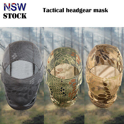 Full Face Mask Wind Protecting Camouflage Army Cycling Motorcycle Christmas Gift