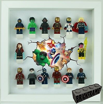 Case for 18 Figures Lego Display Frame UNOFFICIAL Fits Disney Series 2