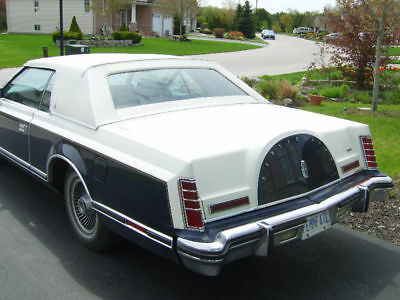 Lincoln: Mark Series 1979 Lincoln Mark V BILL BLASS SPECIAL COLLECTORS EDITION