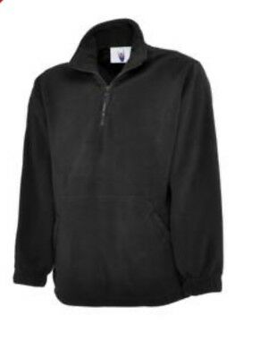 Uneek Classic Full Zip Micro Fleece Jacket Casual Work Wear Extra Warm Adult TOP