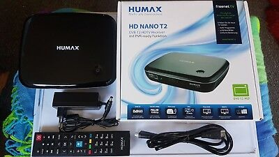 Dvbt-2 Receiver Humax Hd Nano T2  Freenet Tv Ovp